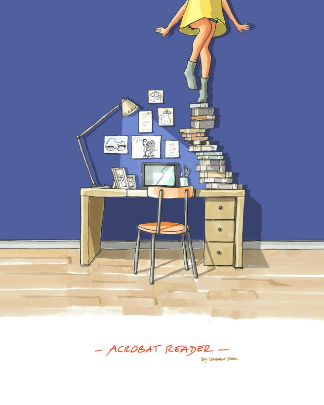 BLOG ACROBAT READER